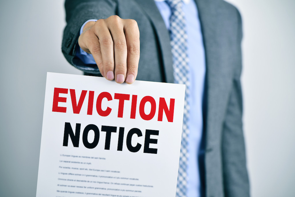 eviction of tenants