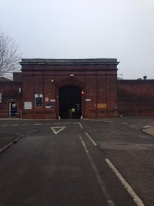 process serving prison
