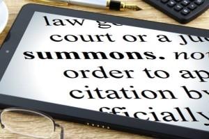 court summons server