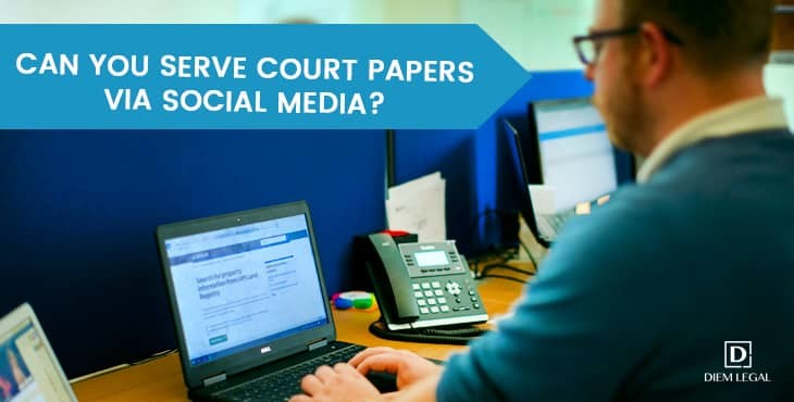 Can You Serve Court Papers With Social Media