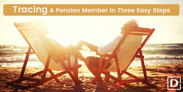 Tracing a pension