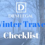 Diem Legal's Winter Travel Checklist