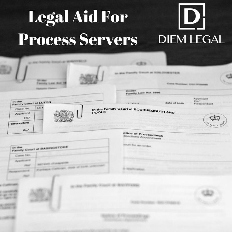 Legal Aid Process Server